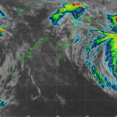 2 Severe Tropical Cyclones approaching the Australian northern coasts